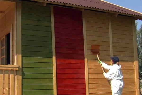 Чем покрасить деревянный дом - статьи в интернет-магазине Материк