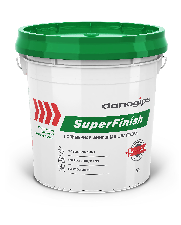 Купить со скидкой Шпаклевка Danogips (Sheetrock Super Finish)  универсальная готовая 28кг (17 л)
